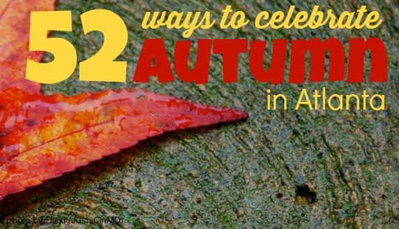 ways to celebrate autumn fall from 365 Atlanta Family