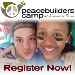 peacebuilders camp at koinonia farm